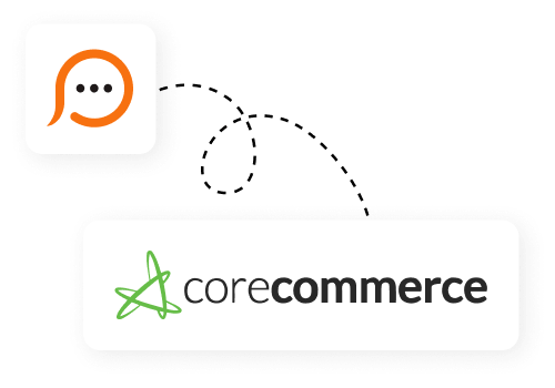 Live chat for CoreCommerce