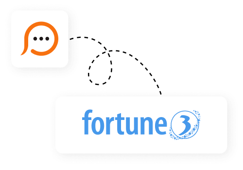 Live chat for Fortune3