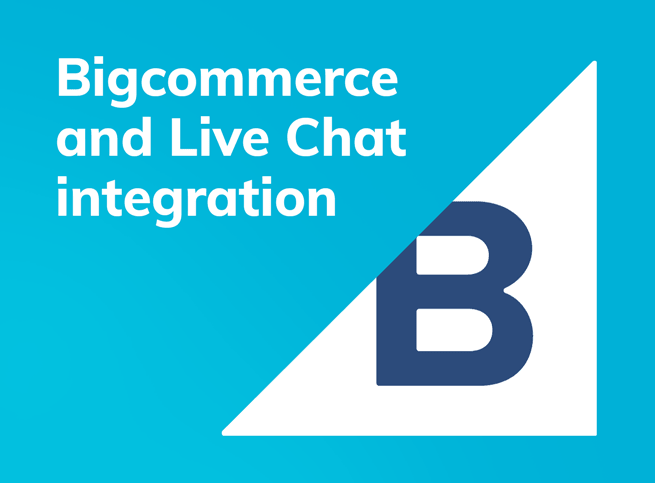 Live chat for Bigcommerce
